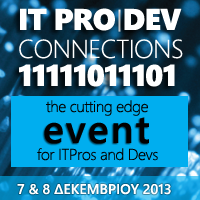 ITPro|Dev Connections 2013